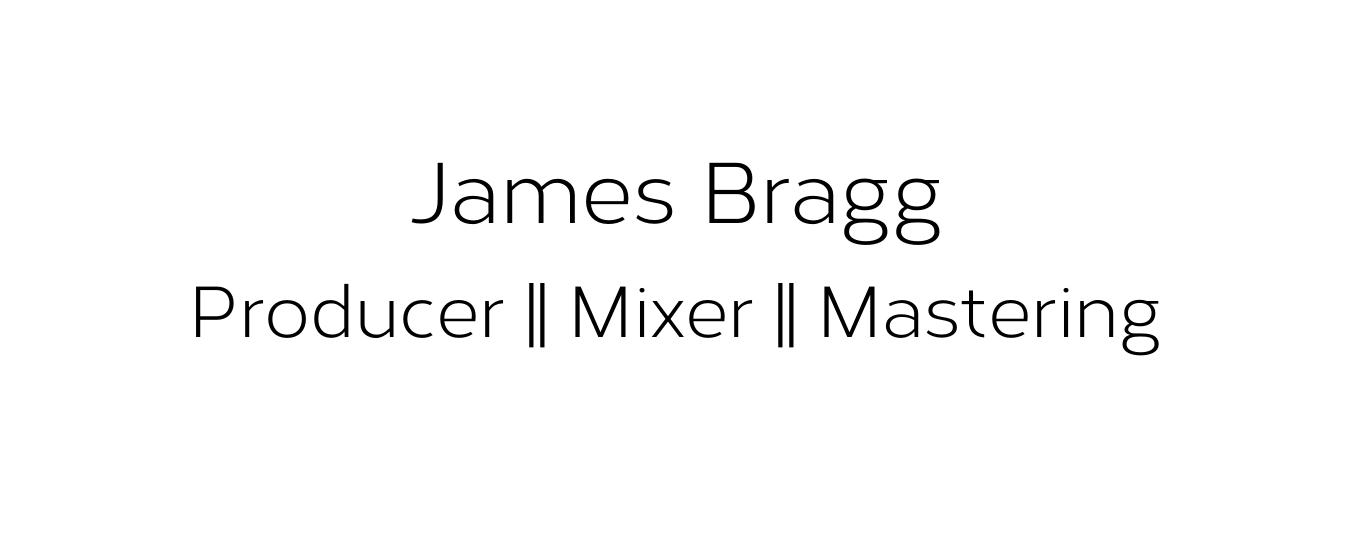 James Bragg Recording
